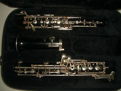PONTE NY. professional  wood oboe with left F