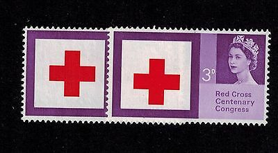 Error Dropped Cross 1963 Red Cross Sg642  Mnh Superb