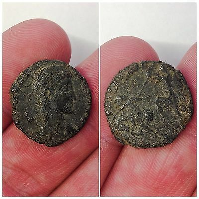 Rare Roman Bronze Coin, Unresearched 3rd Century A.D. (5)