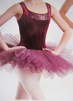 Breezes Roaming Sequins Ballet ASM Pleated Platter Curtain Call Costume