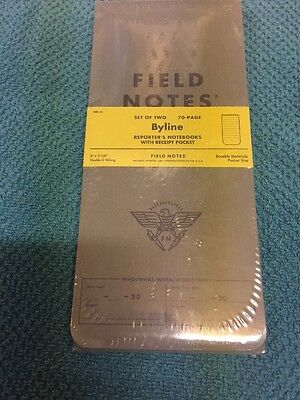 Field Notes Byline Reporters Notebooks