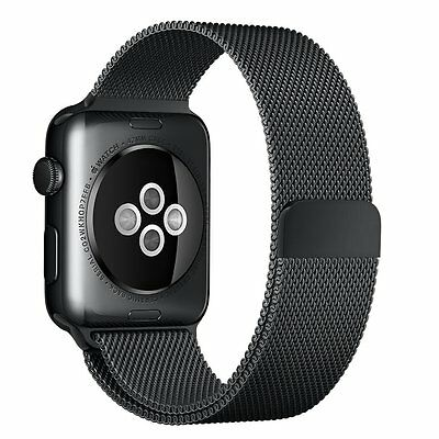 Apple Watch iWatch Band 42mm iKeen Milanese Loop Stainless Steel Replacement New