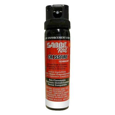 Sabre Red MK-4 Crossfire - 3.0oz Stream OC Spray 52CFT30