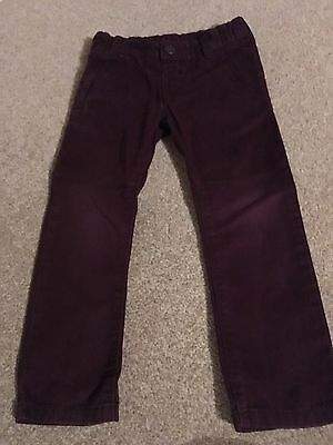 Boys M&S Chinos Size 4