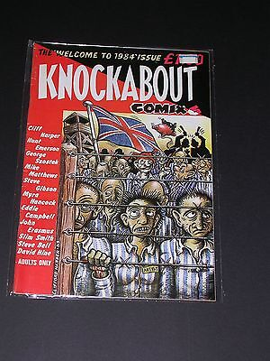 KNOCKABOUT #1 Underground Comix by KNOCKABOUT COMICS