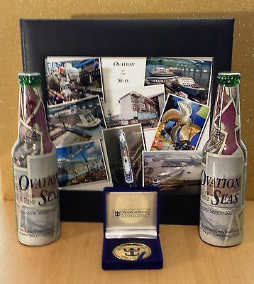 Royal Caribbean Ovation Of The Seas Maiden Voyage 2016, collectables