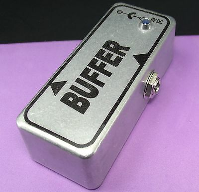 NEW Electric Guitar Buffer for your Effects Pedal Board - Hand Wired in the USA
