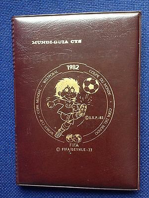 Guide World Cup Spain 1982 Wc82 Fifa Deyhle 1977 Extremely Rare