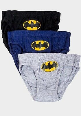 Boys' Batman Character 3-Pack Briefs