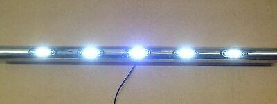 CUSTOM 12V STAINLESS LED LIGHT STEP BAR RECOVERY TRUCK LORRY MOTORHOME 4x4 VAN