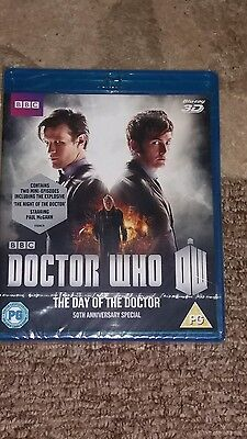 Doctor who. the day of the doctor. Bluray. Brand new and sealed.