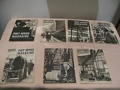 The Post Office Magazines x 7 1936