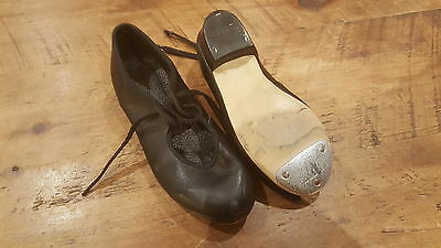 Black tap shoes childrens 10 and a half