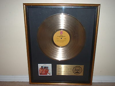 """Ojays Riaa Gold Record Award """"travelin At The Speed Of Thought"""""""