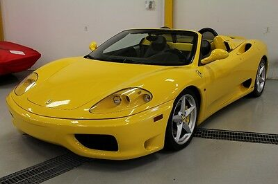 2003 Ferrari 360 Spider Ferrari 360 Spider with Gated Manual Transmission, Stunning overall condition!