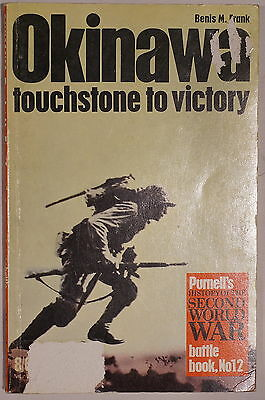 WW2 US Okinawa Touchstone To Victory Purnell 12 Reference Book