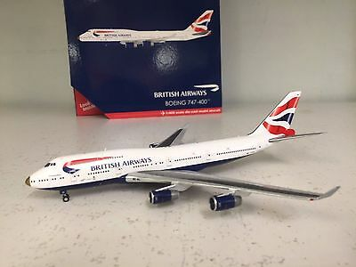 Gemini Jets 1:400 Boeing 747-400 British Airways G-Civa, 'victorious'