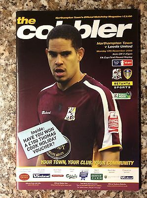 Northampton Town V Leeds United FA Cup 1st Round Replay 2008