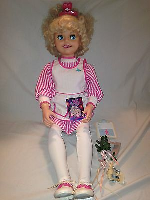 * Playmates Jill nurse doll and accessories, 1987 *
