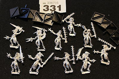 Games Workshop Mordheim Amazons Warband Amazon 10 Metal Figures Mint Warhammer