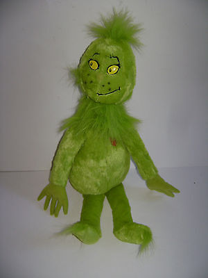 Kohl's Cares For Kids Dr. Seuss The Grinch Plush Toy Stuffed Green Mr.