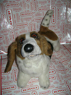 "Yomiko Russ Bassett Hound Realistic Dog Pup 15"" Plush Stuffed Animal Toy Rare"