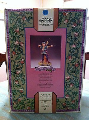 """Melody In Motion """"robin Hood"""" #07135 / Collectible Porcelain Figurine"""
