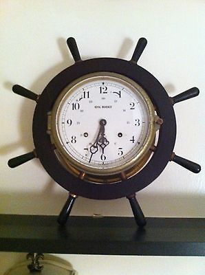 Vintage 1985 Schats Royal Mariner Clock / Nice Display / Looks Antique