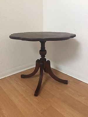 Mahogany Side Table Imperial Manufacturing Grand Rapids (Mid Century Modern)