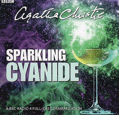 Agatha Christie, Sparkling Cyanide 2 Cd Audio Book Time 1 Hour 30 Mins Approx