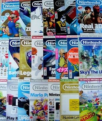 OFFICIAL NINTENDO MAGAZINE x 22 - ISSUES 61-82 (2010-2012)