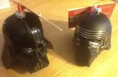 2 New With Tags Hallmark Star Wars Christmas Ornaments