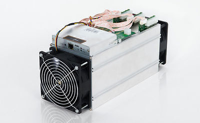 Antminer S7 4.7+ TH/s bitcoin miner 2 Fans No Power Supply