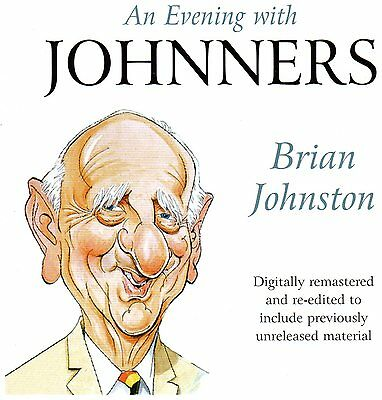 An Evening With Johnners 2 Cd Audio Book Running Time 2 Hours Approx