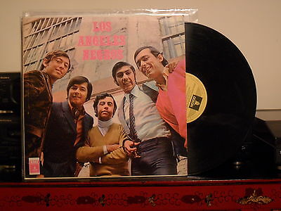1970 LOS ANGELES NEGROS s/t LP CHILE ICONIC BREAKS PSYCH FUNKY BEAT BAND RARE