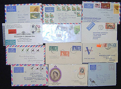 Lot of 60 Kenya Postal History History Covers.