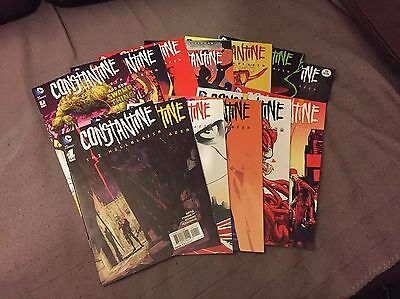Constantine - The Hellblazer 1 to 13 (Complete) - 1st Prints (DC) New 52
