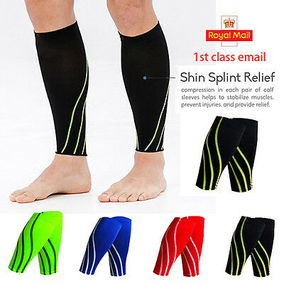 Wraparound Neoprene Calf Support Shin Splints Pain Injury Sleeve Compression JF