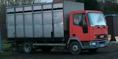 FORD IVECO 7.5 TON Horse Wagon