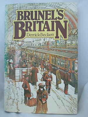 BRUNEL'S BRITAIN ~ Beckett. GREAT WESTERN RAILWAY. CLIFTON SUSPENSION BRIDGE