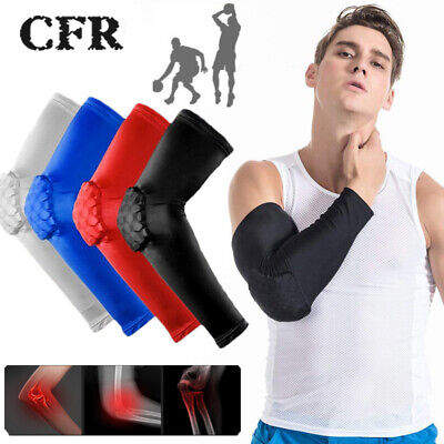 Elasticated Elbow Support Sleeve Bandage Arm Brace Wrap Guard Tennis Gym New JF