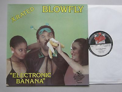 Blowfly ‎– Electronic Banana  LP  EX