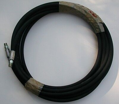 "LT75360ME; 30 ft x 1/4"" High Pressure Grease Hose (5000 PSI Operating Presssure)"