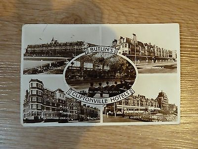 Butlins postcard 'Butlin's Cliftonville Hotels' late 1950s/early60s