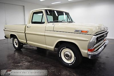 1971 Ford F-100 Pickup 1971 Ford F100 Frame Off Restored