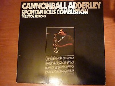 Double LP-Spontaneous Combustion,The Savoy Sessions-Cannonball Adderley-WL70531