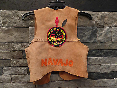 YMCA Suede Vest Jordan YMCA Navajo North Star Longhouse Vintage Youth