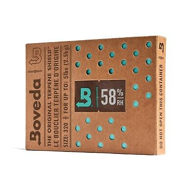 Boveda 58% Rh (320 Gram) - Individually Over-Wrapped