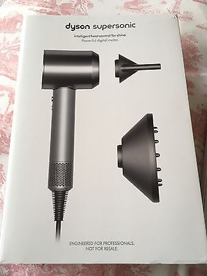 Dyson Supersonic Hairdryer All Silver/Grey Professional Edition