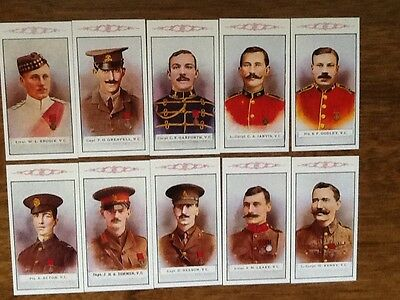 1St Series.....victoria Cross Heroes....(Set Of 25 Cards)